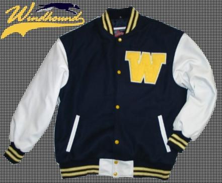 COLLEGE JACKE -Letter Jacket Größen  XS, S, M, L, XL, XXL, XXXL 49dfc191af
